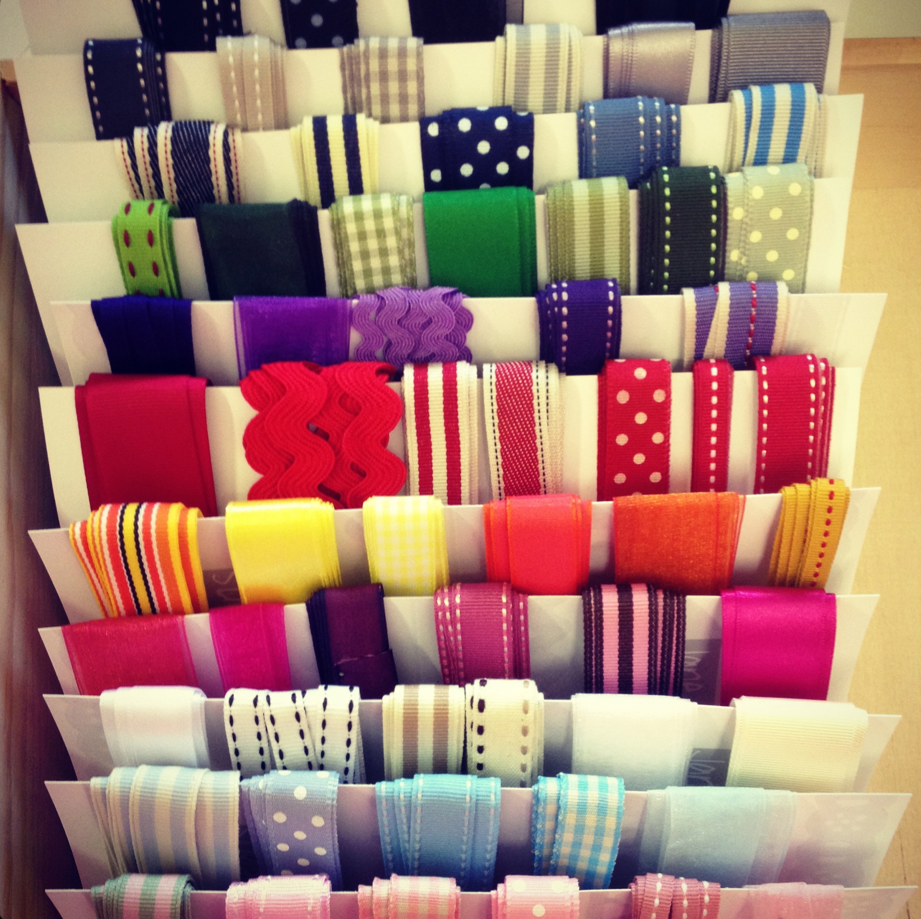 Loose ...  sc 1 st  Jane Means & Clever ribbon storage and display ideas - Jane Means