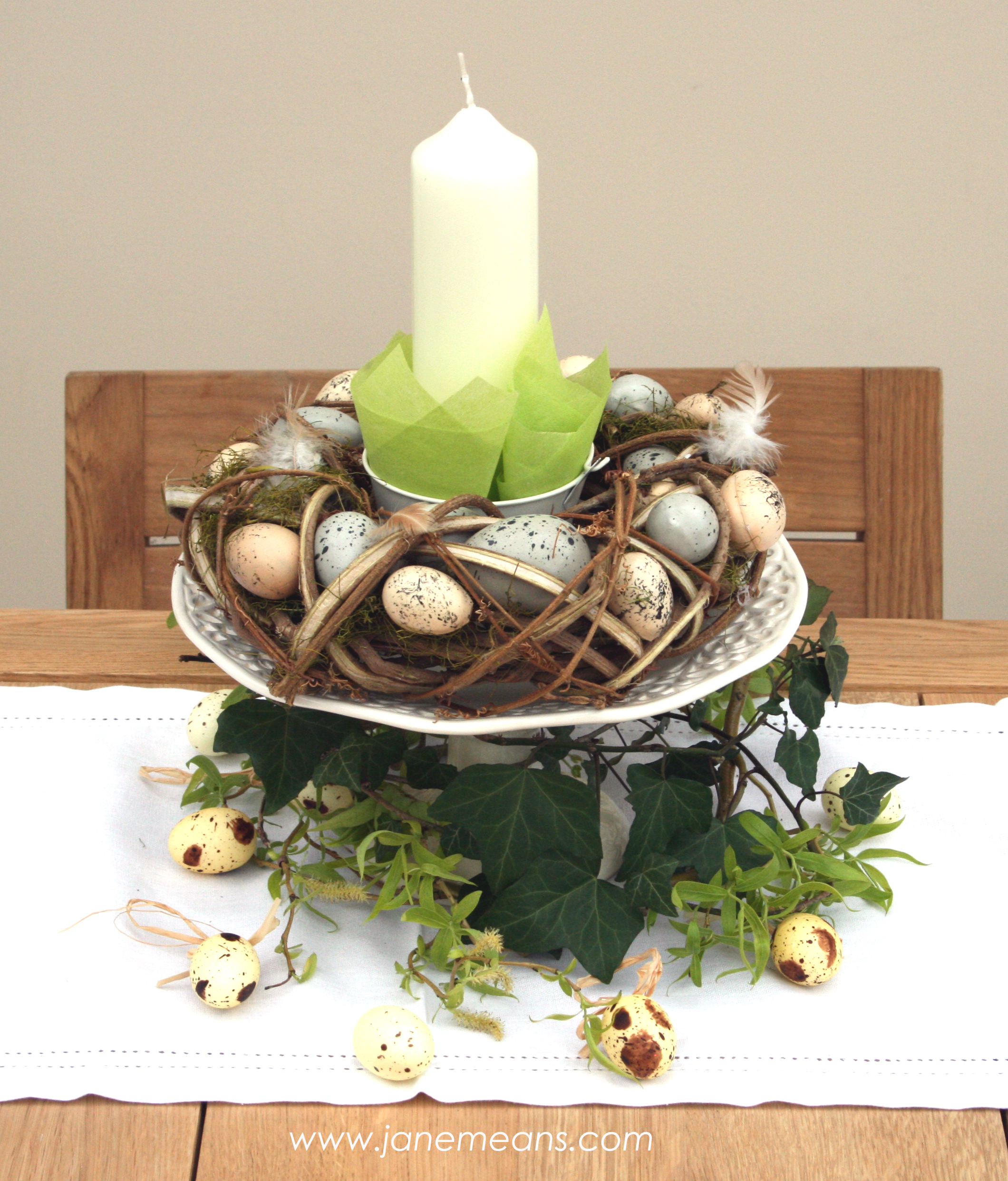 Inspiration for easter jane means - Decoration paques table ...