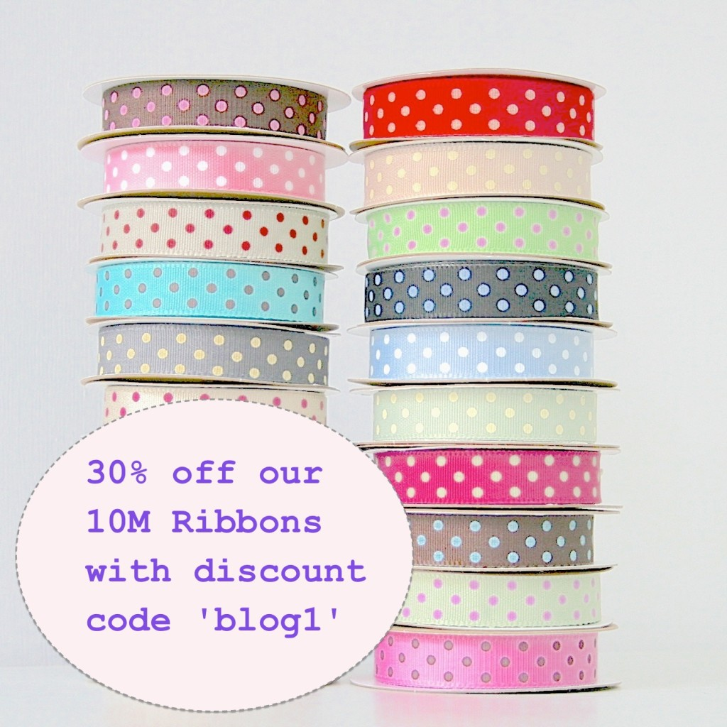 ribbon discount code