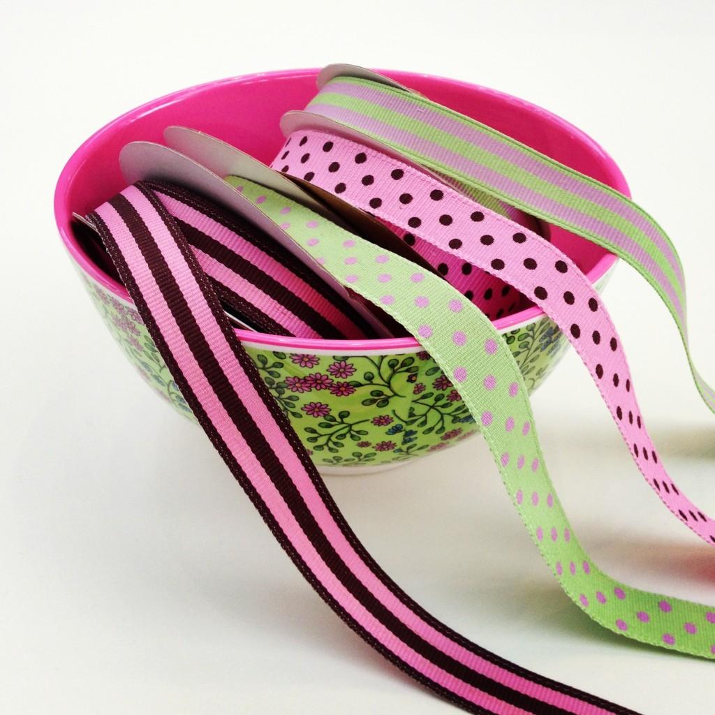 vibrant ribbons