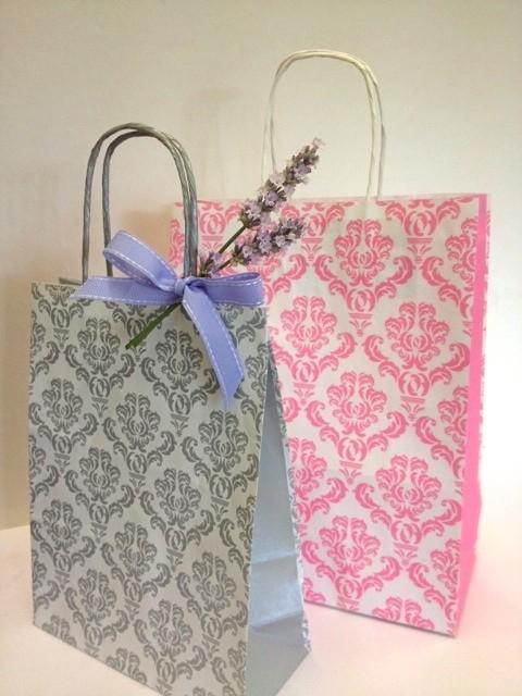 Damask Gift Bags