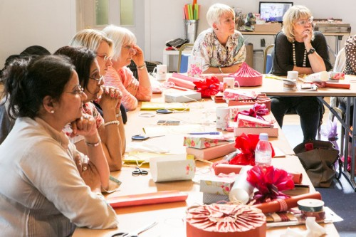 Jane Means Gift Wrapping Course