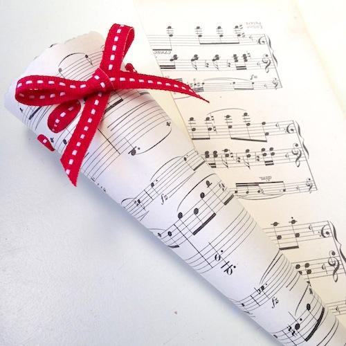 Music script cones