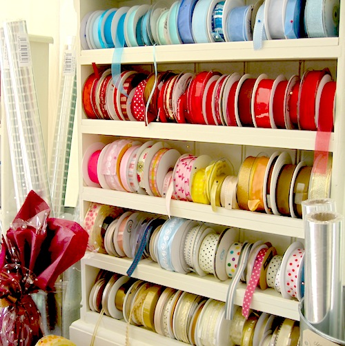 shelf ribbons