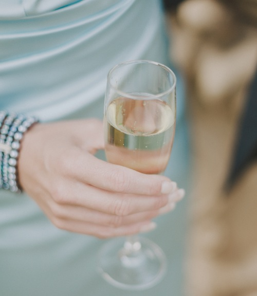 Italian wedding prosecco