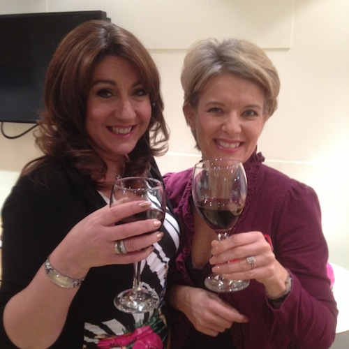 Jane McDonald and Jane Means