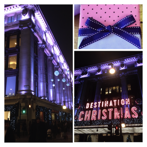 Selfridges gift wrapping service