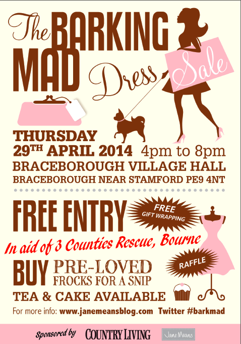 Barking Mad Charity Dress Sale 2014