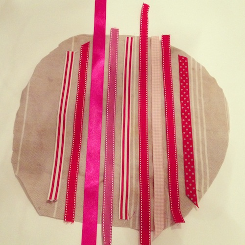 DIY ribbon project
