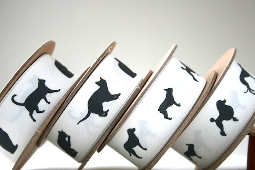 Original Dog Cat ribbons by Jane Means
