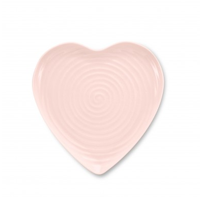 Sophie Conran pink plate heart