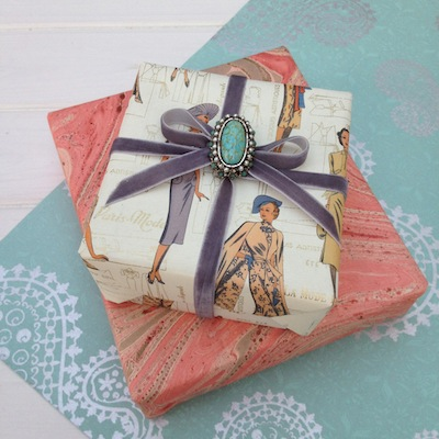 Rossi giftwrapping by Jane Means