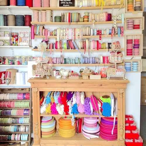 Haberdashery Closet at Jane Means
