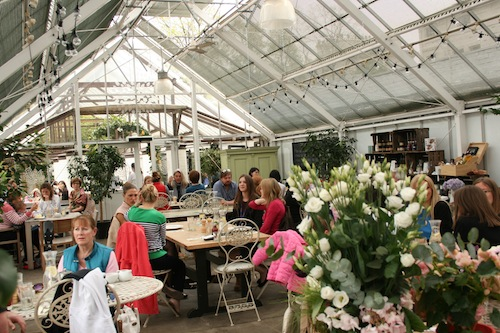Quince tree Cafe at Clifton Nurseries
