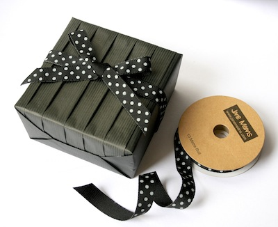 black pleated box by jane means