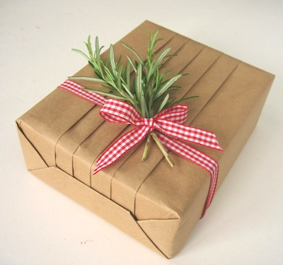 eco gift wrapping ideas