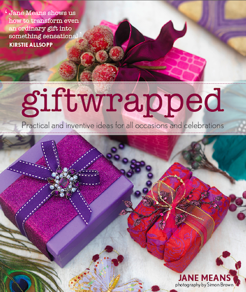 Jane Means book Giftwrapped cover