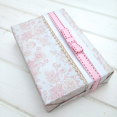 pastel gift wrapping