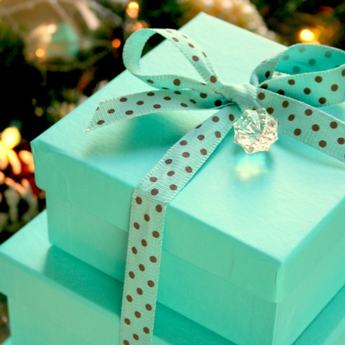 Colored Gift Boxes 9 x x inch Set of 10 including Pull Bows and Tissue Paper. Perfect to Wrap Presents. Ideal for Christmas, Baby Clothes, Bathing Products, Cupcakes, Cookies and other Gifts.