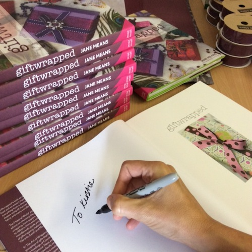 Jane Means book signing