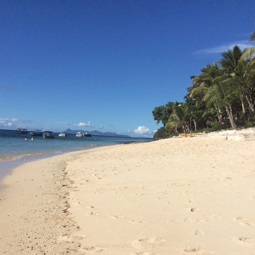 Tokoriki beach Fiji
