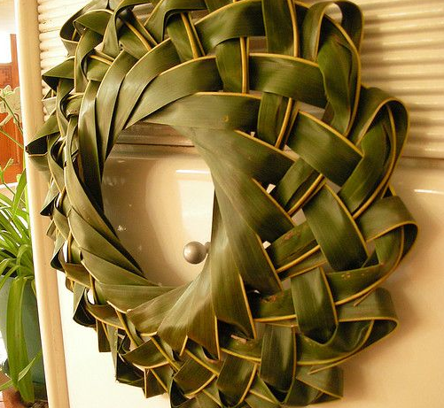 palm tree wreath