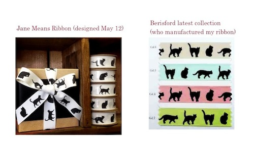 Berisfords dog cat ribbon