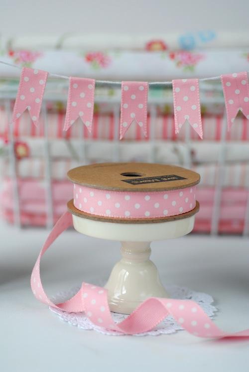 Pink spot ribbon