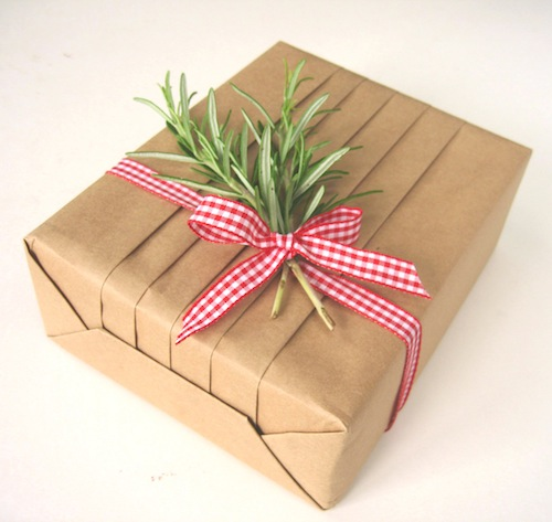 Eco wrapping tips