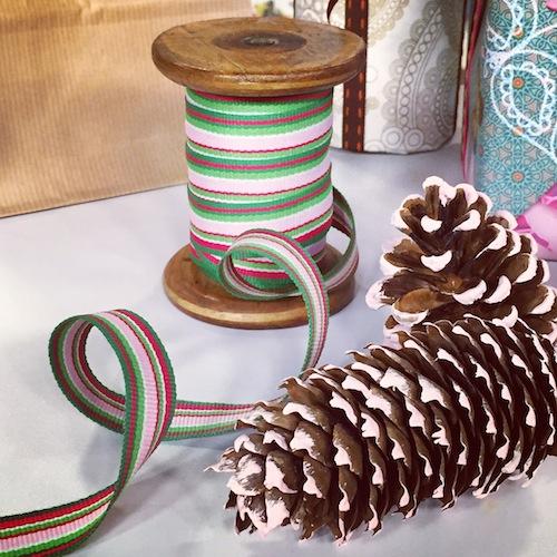 Deckchair stripe ribbons