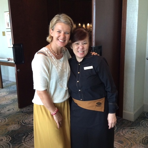 Jane Means at Mandarin Oriental Singapore