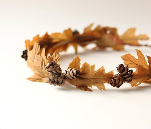 Autumn headband