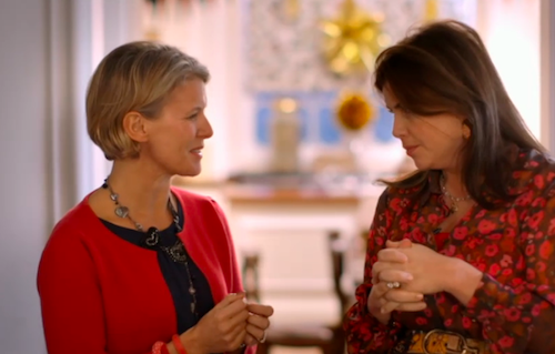 Jane Means on Kirsties Handmade Christmas TV Show