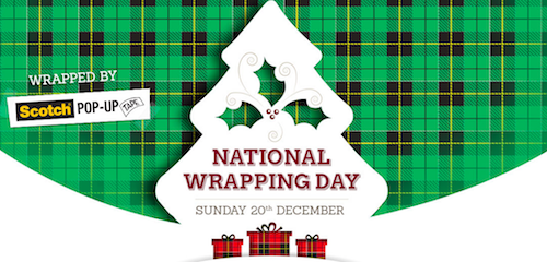 National Wrapping Day logo