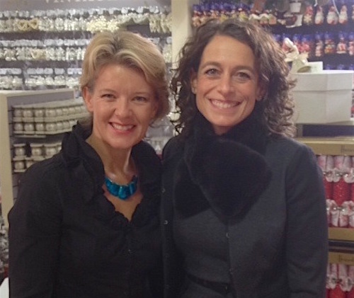 Jane Means and Alex Polizzi
