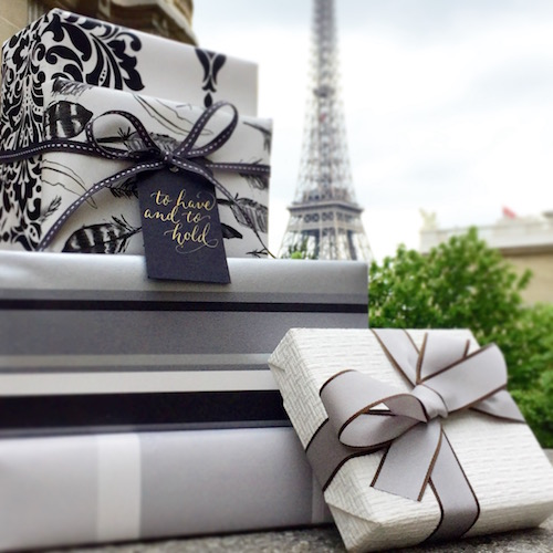 Gift Wrapping in Paris