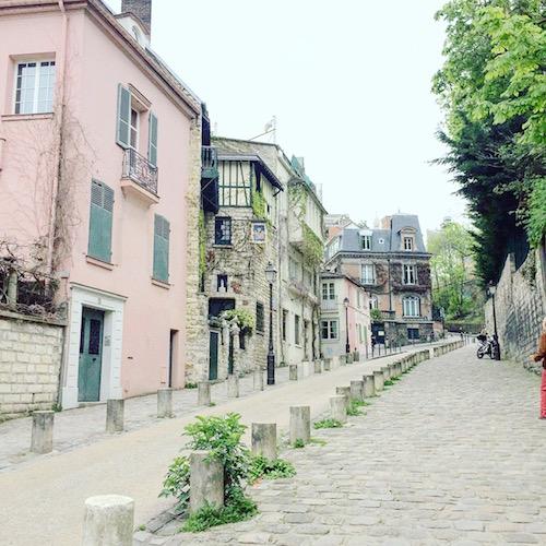 Montmarte pretty street