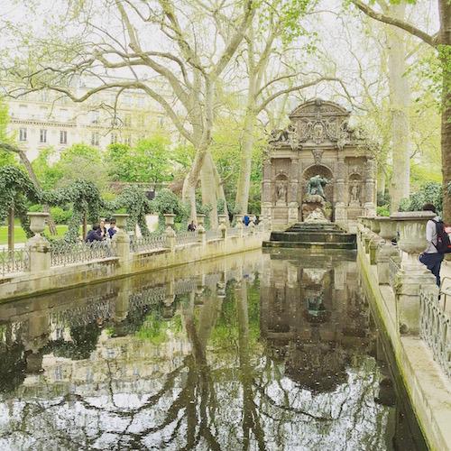 Paris gardens
