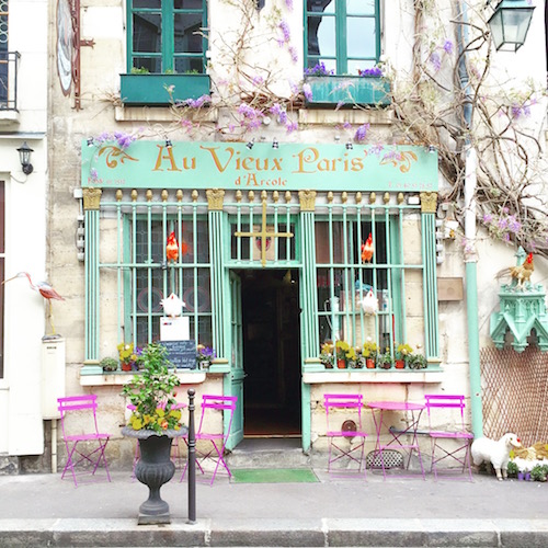 Pretty Paris Cafe