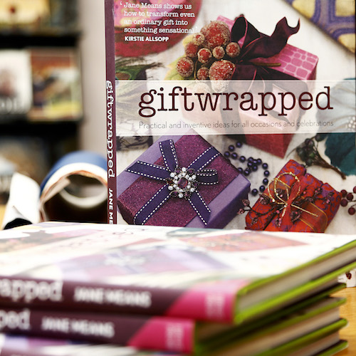 giftwrapped book