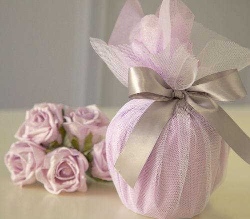 wedding wrapped gifts