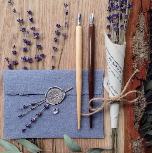 Wax Seal and Lavender