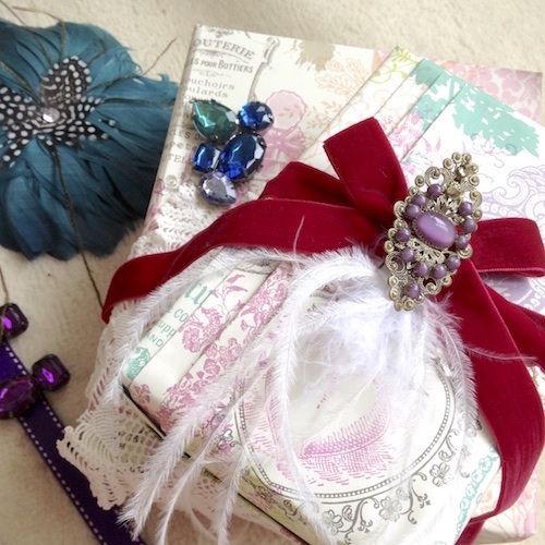 steampunk gift wrapping