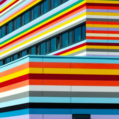Berlin Stripe Building