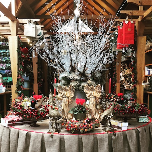 Clifton Nurseries Christmas shop
