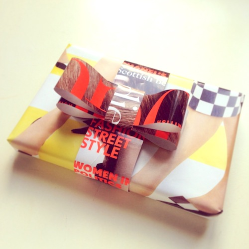 Creative gift wrapping ideas with magazines and newspapers jane often using newspaper on our gift wrapping courses so i thought id show you some creative gift wrapping ideas with magazines and newspapers negle Choice Image