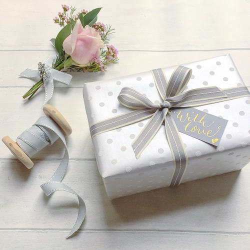 Great ideas using calligraphy in gift wrapping negle Image collections